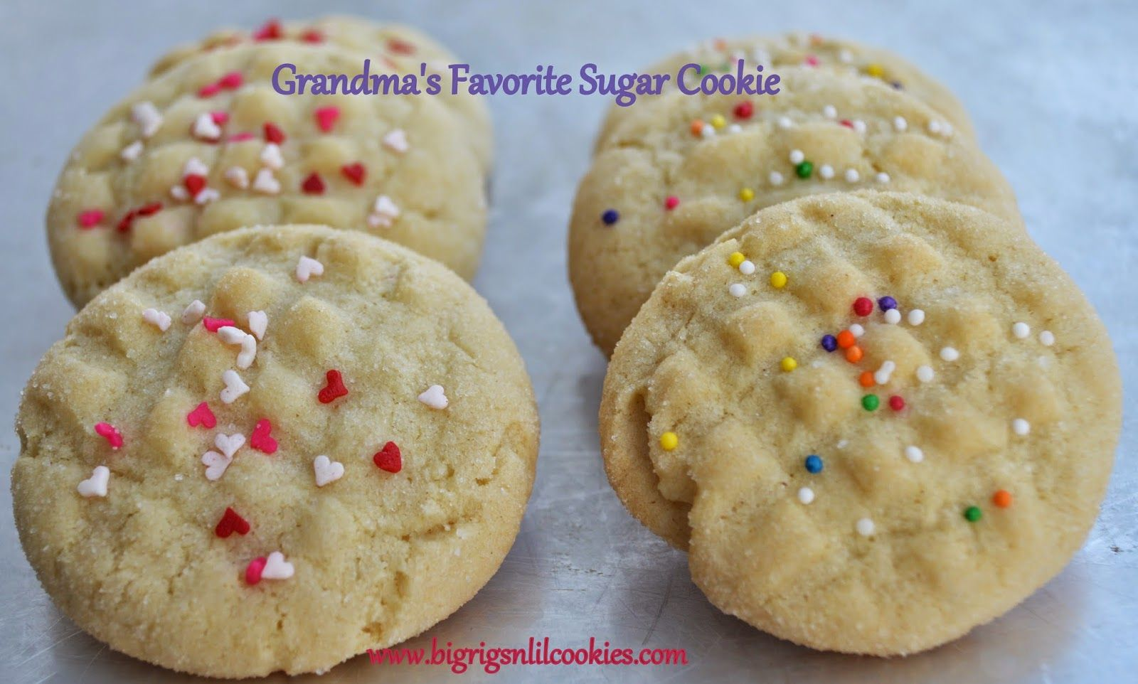 Grandma's Favorite Sugar Cookie Sugar cookies, Cookies