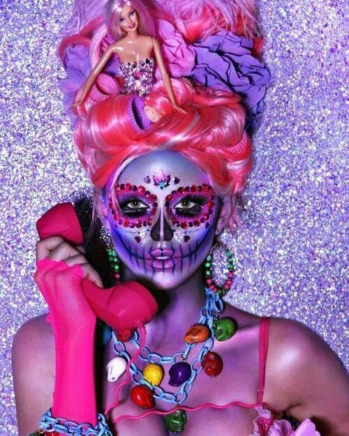 Sugar skull barbie