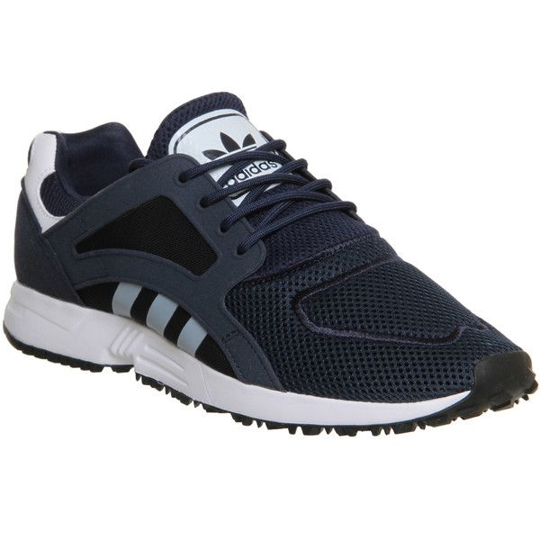 Adidas Racer Lite (€44) ❤ liked on Polyvore featuring shoes, athletic shoes