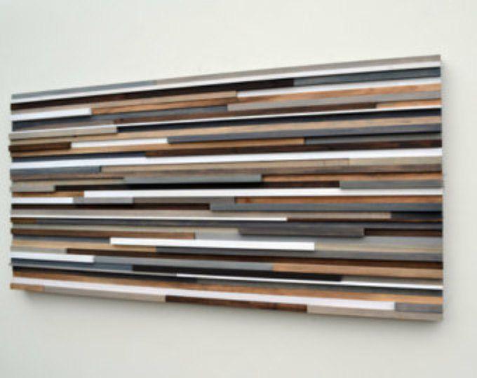 modern abstract painting on wood sculpture m bel. Black Bedroom Furniture Sets. Home Design Ideas