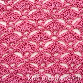 Crochet Shell Stitches