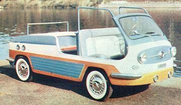 Fiat 600 Spiaggia Vignale Fiat 600 Fiat Fiat Cars