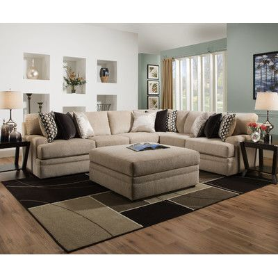 Simmons Upholstery Hypnos Sectional