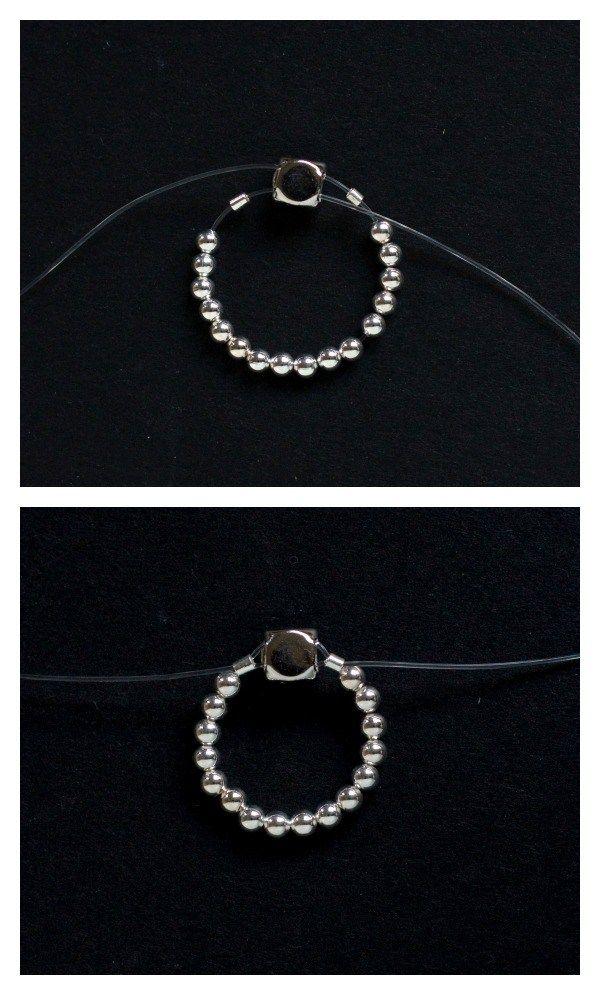 Easy Elastic Ring Diy Make And Fable Elastic Rings Diy Rings Black Diamond Wedding Bands