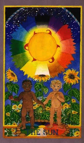 Image result for sun wheel of change tarot