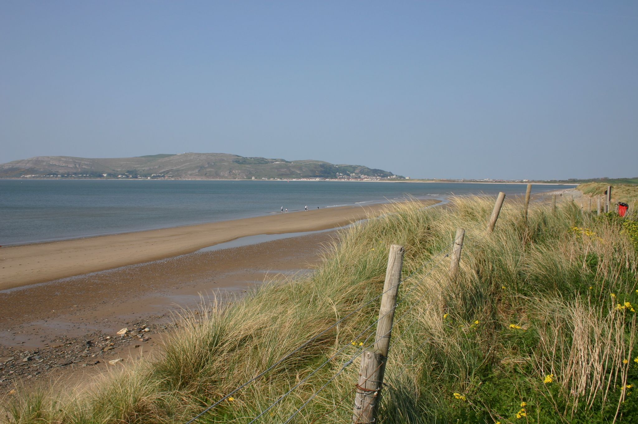 beach near Aberconwy Resort and Spa North Wales