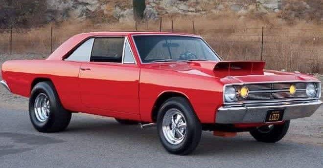 1968 Hemi Dart Classic Cars Muscle Mopar