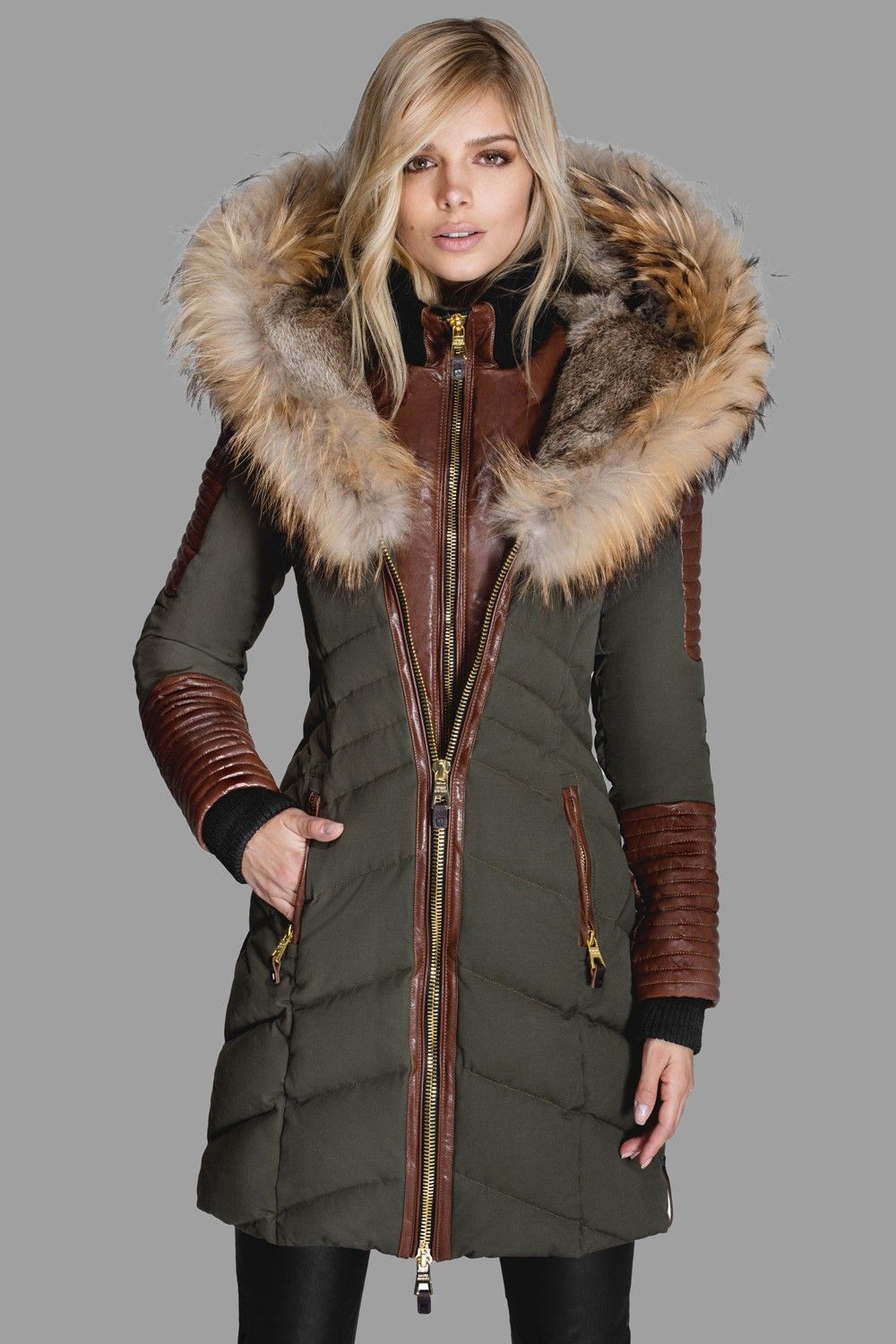1a73c6b2bac Slim quilted down puffer by Nicole Benisti | To purchase for ...