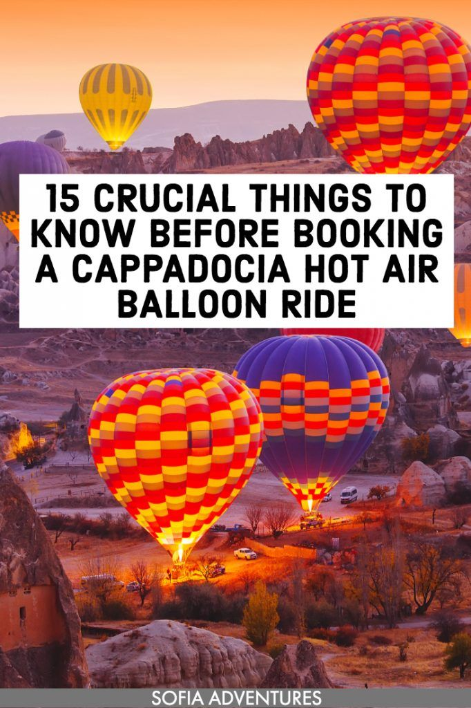 15 Things to Know Before Your Cappadocia Hot Air Balloon