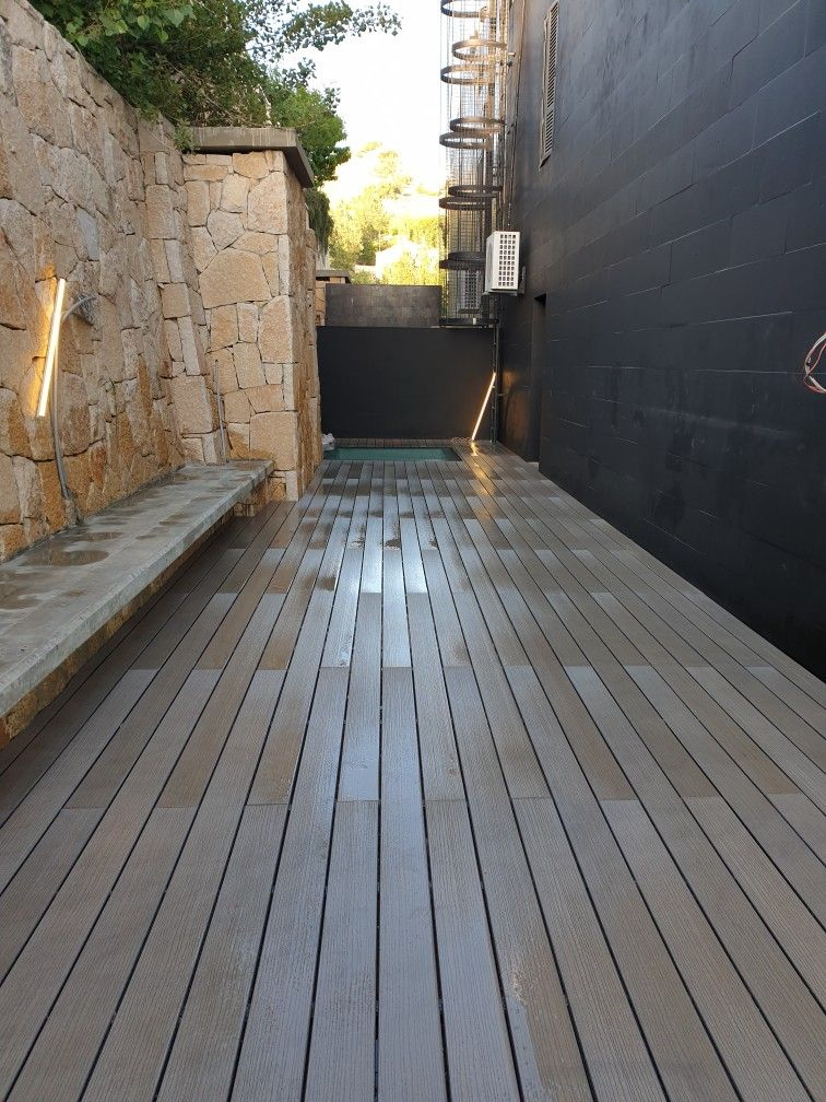 Woodfloors Outdoor Modern Ideas Wpc Decking Company 00961711170181 W P Wood Wpc Deck تركيب خشب ارضيا In 2021 Outdoor Wood Decking Outdoor Decor Wood Deck