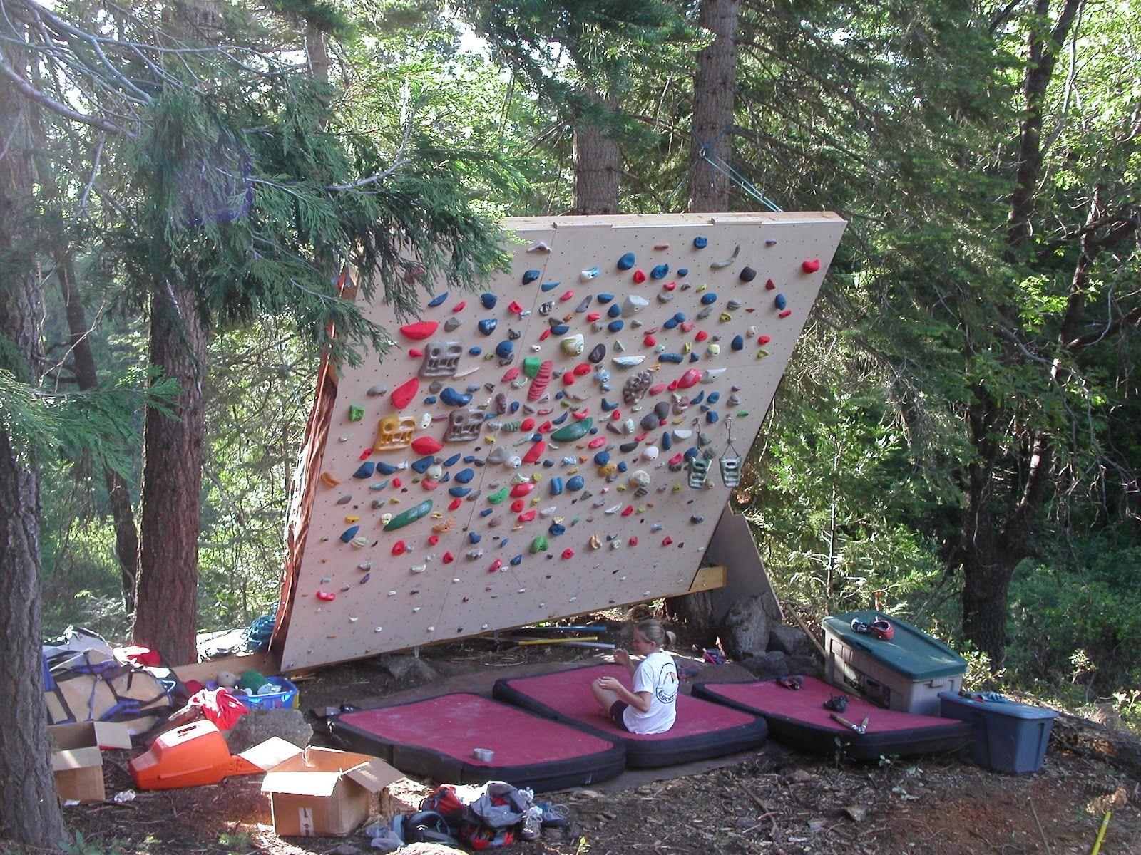 Outdoor Wall 01 | Home climbing wall, Climbing wall, Diy ...