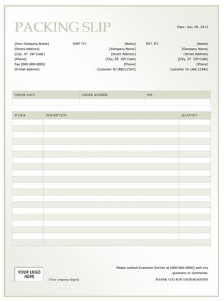 Shipping Packing List Template | Business | Pinterest | Pack list