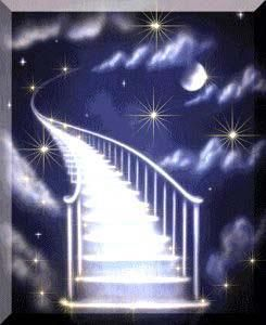 I wish there really was a Stairway to Heaven so I could climb it to hug you one last time ~
