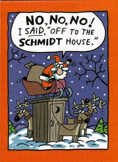 Merry Xmas Cartoon Pics : merry, cartoon, Schmidt, House, Christmas, Funny, Cartoons,, Memes, Funny,, Pictures