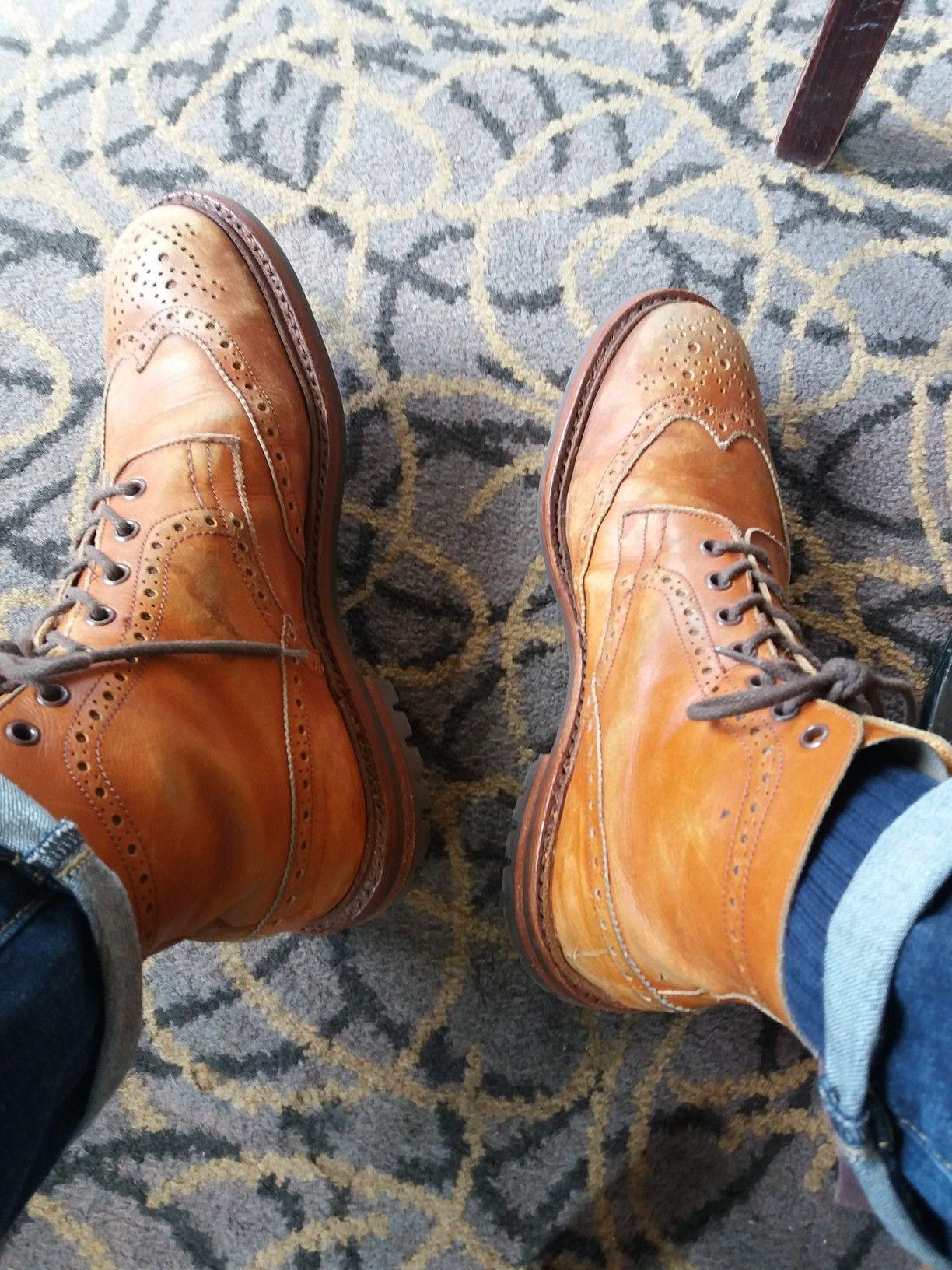 61c18b03d275f My Vintage Trickers Stows...Fantastic Patina. Tim M | !!!Footwear ...