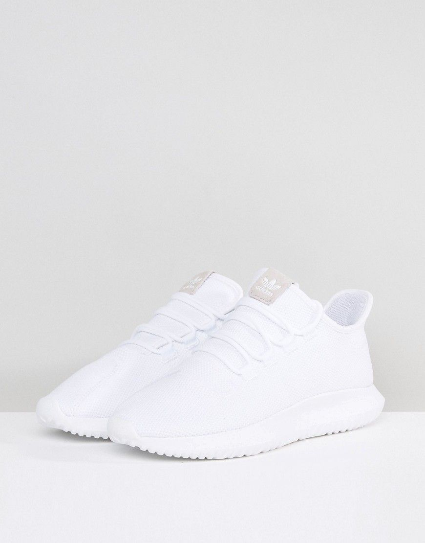 best loved 29033 86e78 adidas Originals Tubular Shadow Sneakers In White CG4563 - White