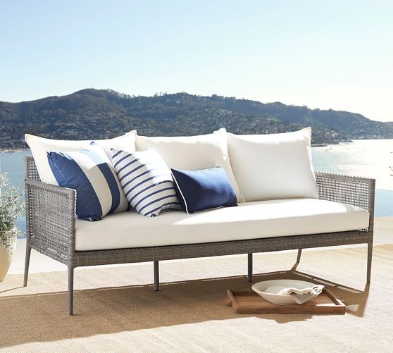 Charmant Cammeray All Weather Wicker Sofa | Pottery Barn Great Set Also On Sale And  Comes