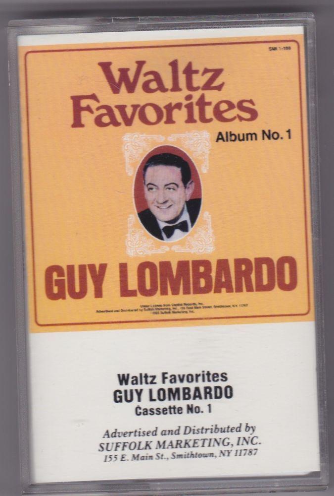 Waltz Favorites by Guy Lombardo (Cassette, 1986, SMI) #BigBandSwing