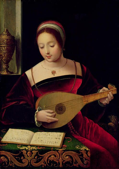 Mary Magdaline Playing The Lute Lute Renaissance Music Mary Magdalene