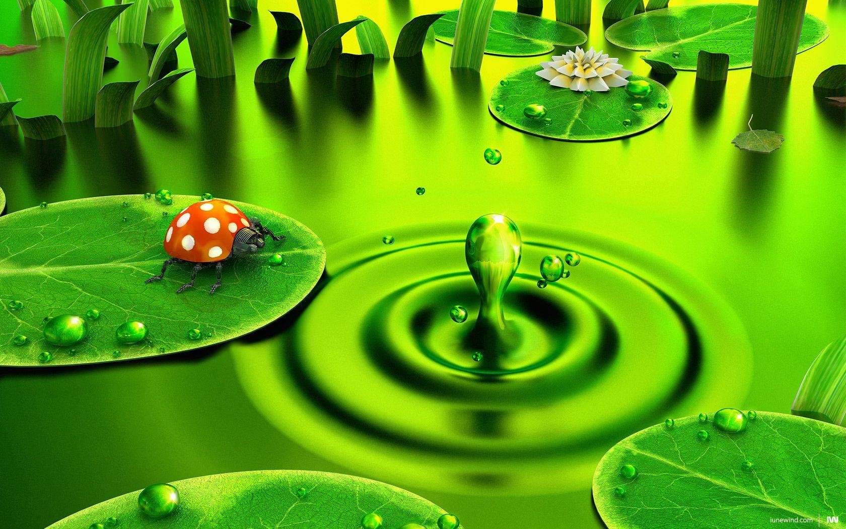 nice green wallpaper Green nature, Green wallpaper