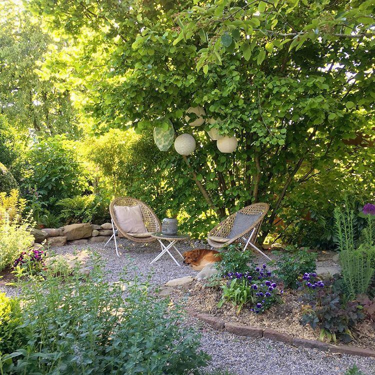 Photo of Gartensitz #garden #garten Ein Schweizer Garten auf Instagram: Abend …