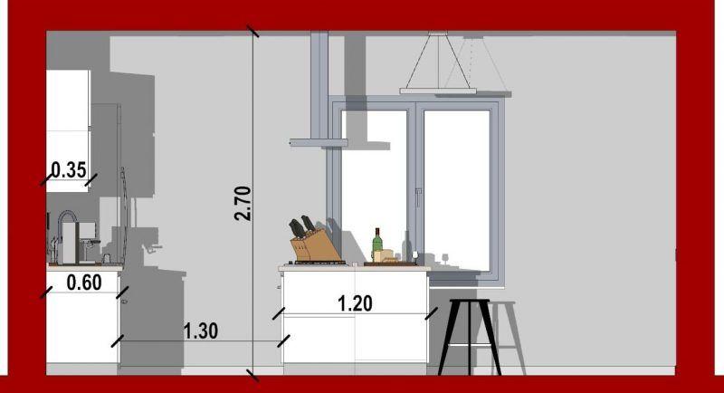 come progettare una cucina_sezione cucina con isola ...