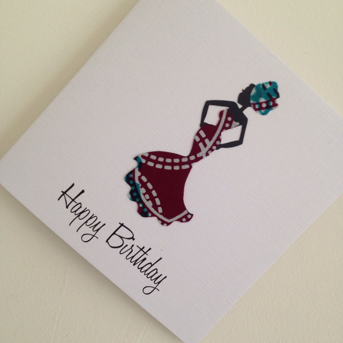 Beautiful handmade african inspired greeting cards which incorporate beautiful handmade african inspired greeting cards which incorporate african fabrics on to high quality linen card m4hsunfo