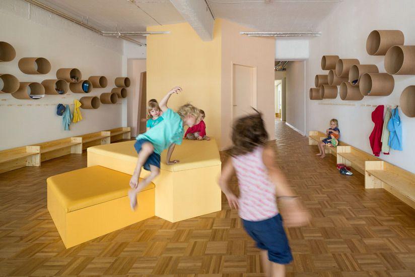 Baukind kita loftschloss berlin kitaeinrichtung for Raumgestaltung reggio