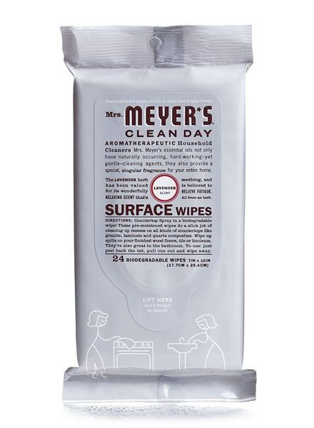Mrs Meyer S Clean Day Lavender Surface Wipes Green Cleaning