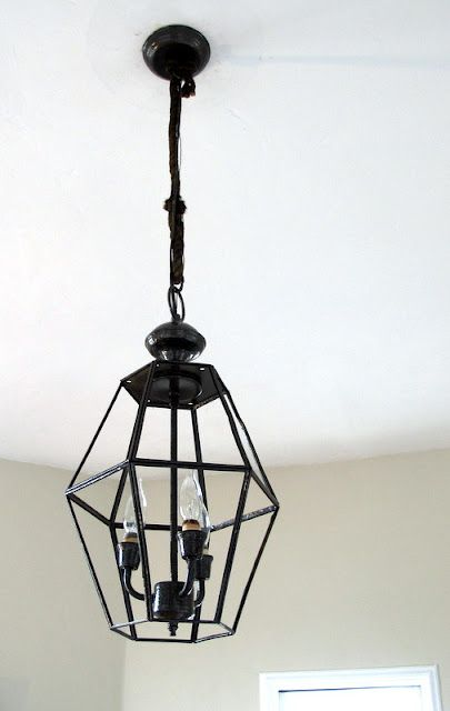 Want to spruce up outdated light fixtures try removing the glass from yuck