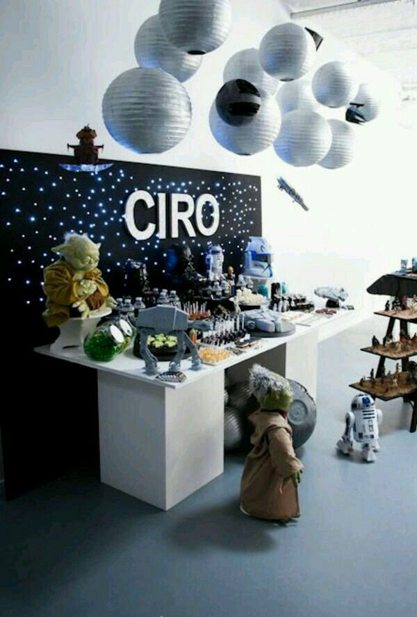 Decoraci n cumplea os star wars star wars fiesta for Decoracion star wars