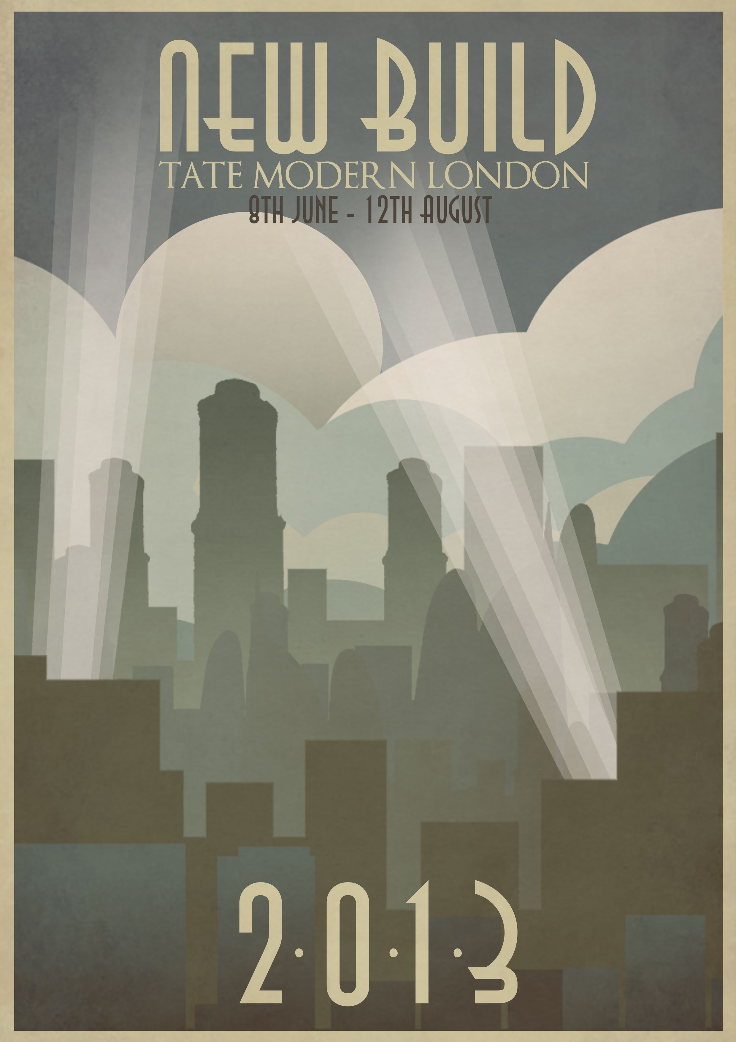 Art Deco Poster Design Katy Thorn Posters Graphic