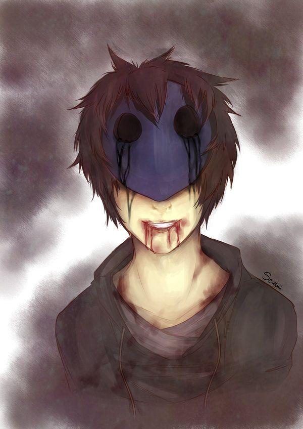 Creepypasta, Eyeless Jack, Behind the mask.