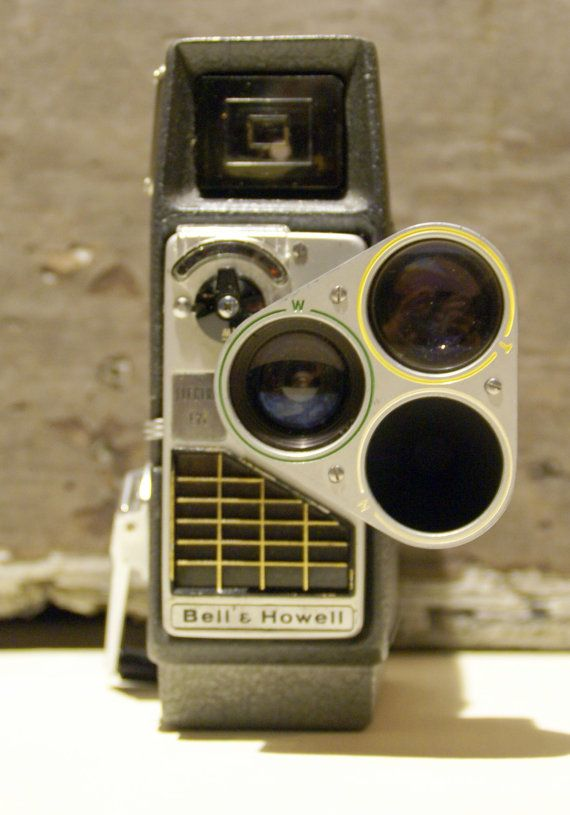 Bell & Howell electric eye camera, 1956.