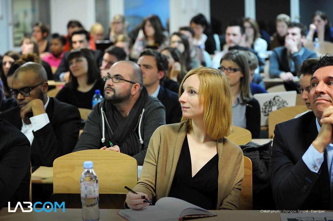 @Naguib Toihiri & @Christian Peters  Membres du public - Amphi MBA ESG Conférence #Labcom