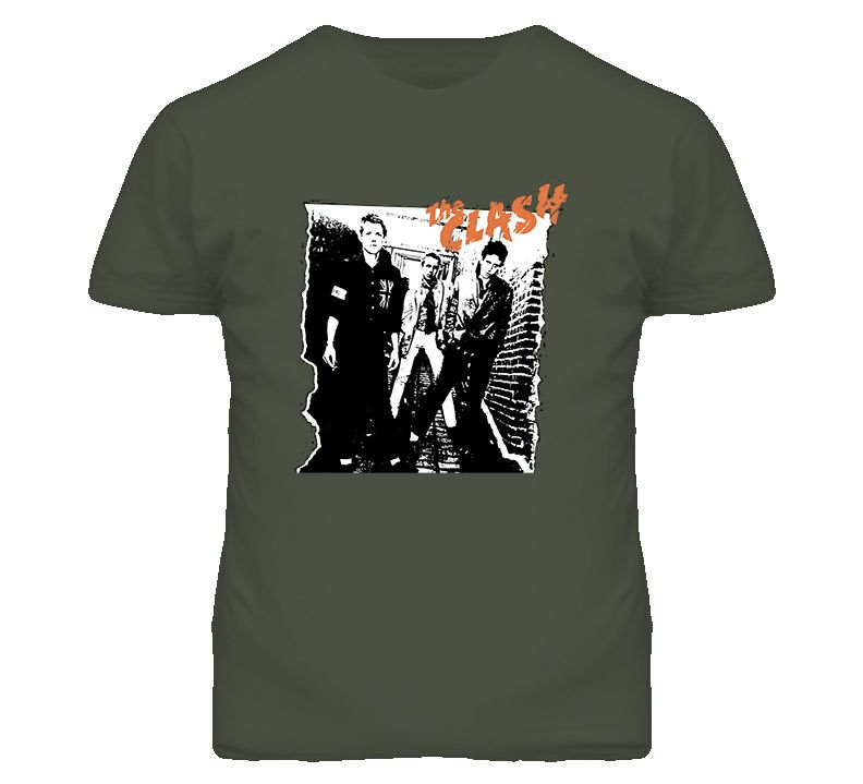 The Clash Album 70s T Shirt