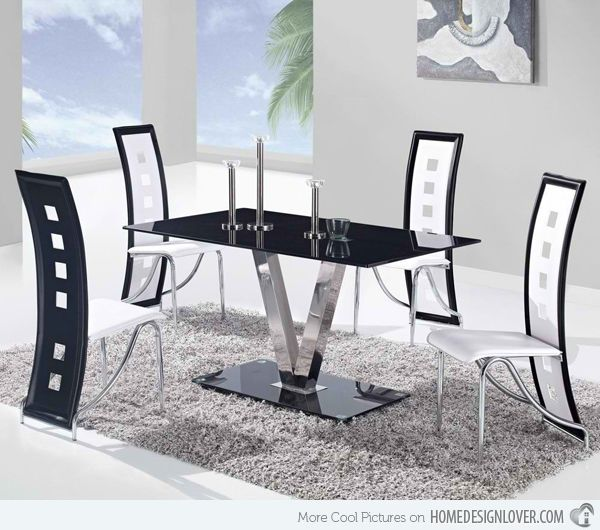 15 Superb Stainless Steel Dining Table Designs | Stainless steel ...