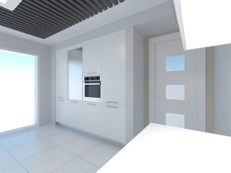 Antrasit-beyaz Mutfak