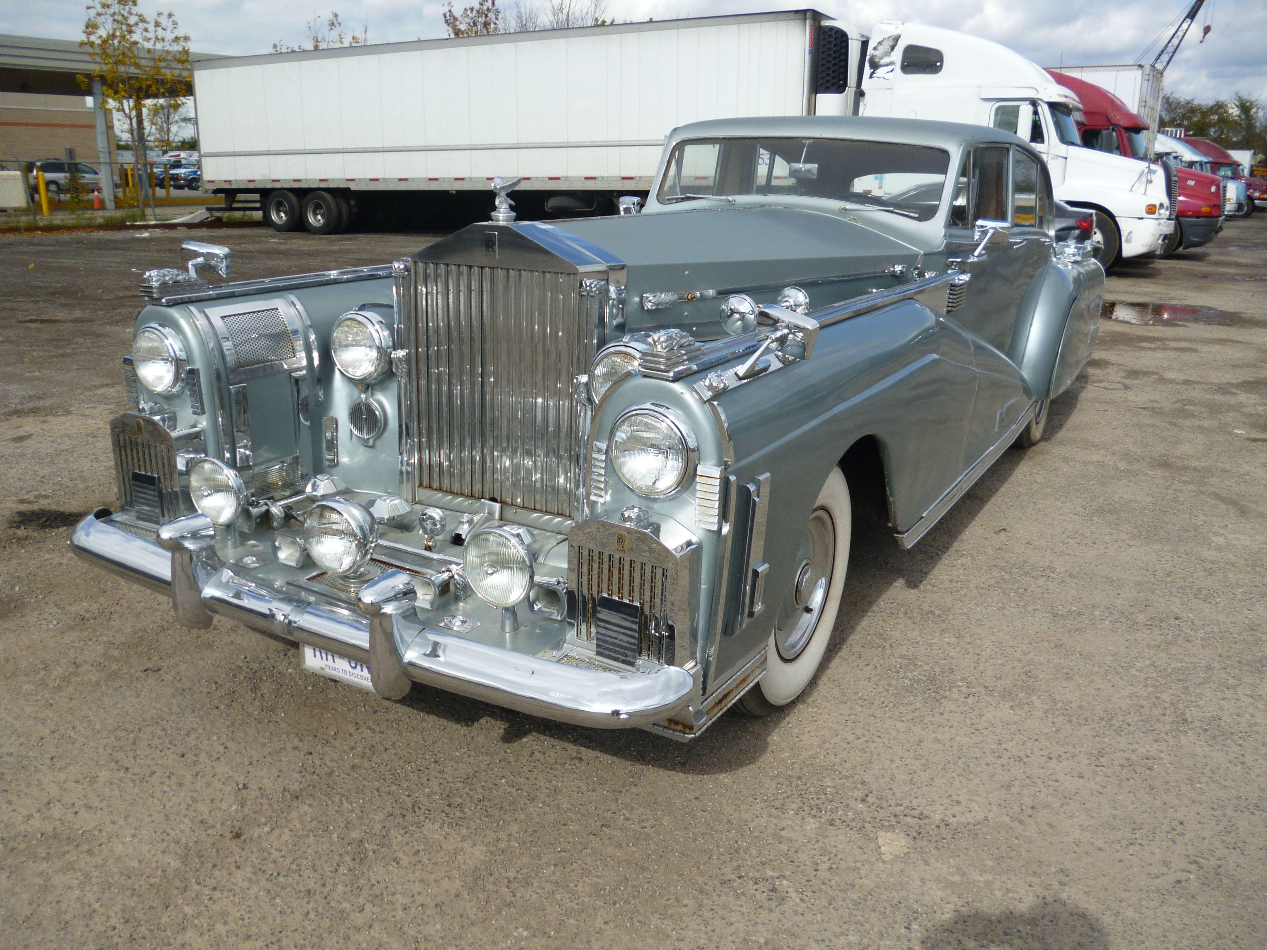1954 Rolls Royce Custom. #RollsRoyce #Appraisal. Golden Horseshoe ...