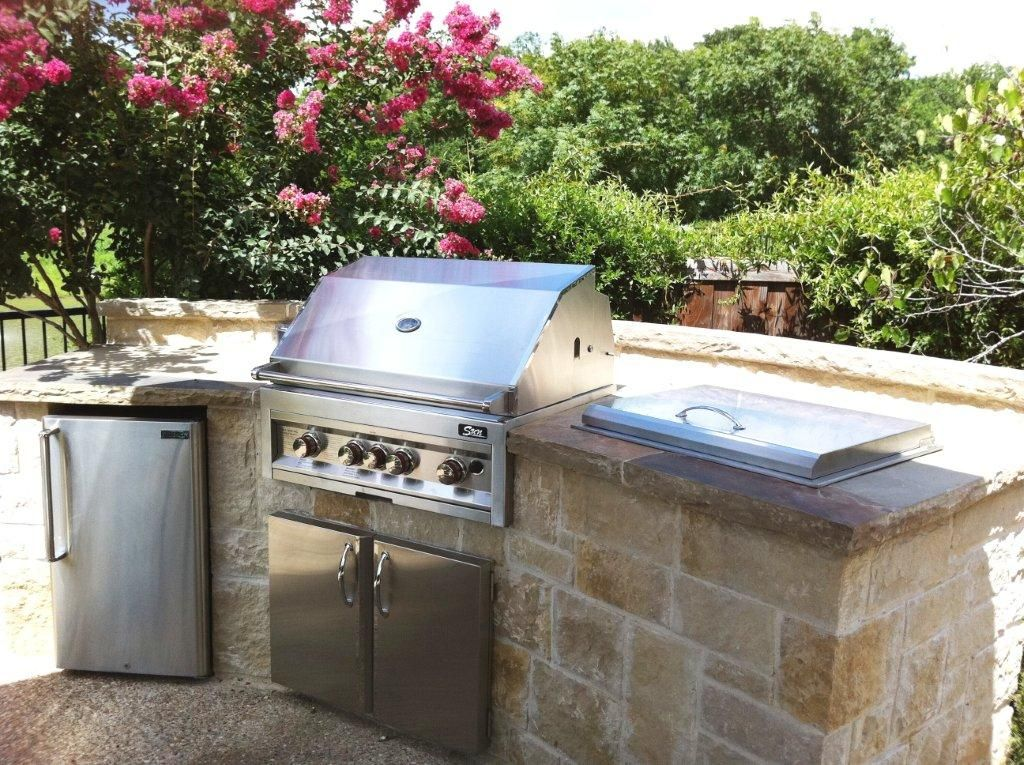 Stone Outdoor Kitchens In Dallas Tx Custom Stone Work Asador Living