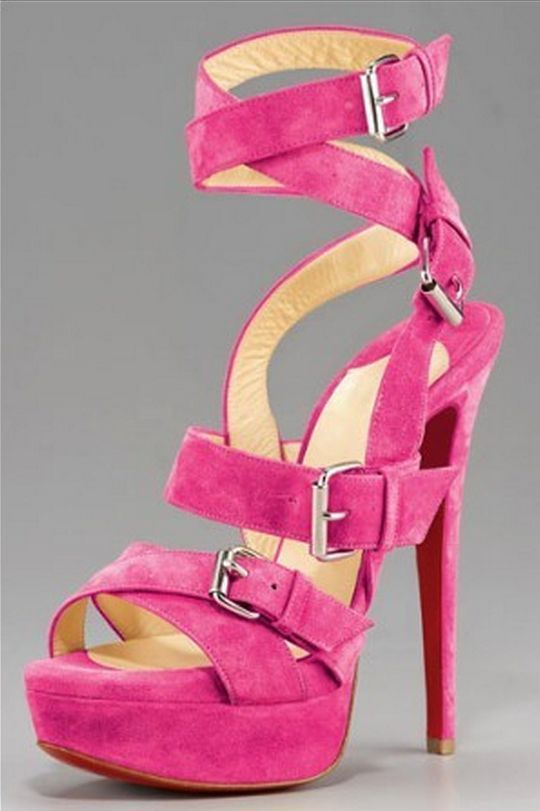 1000  images about High heels on Pinterest | Pink sandals Just