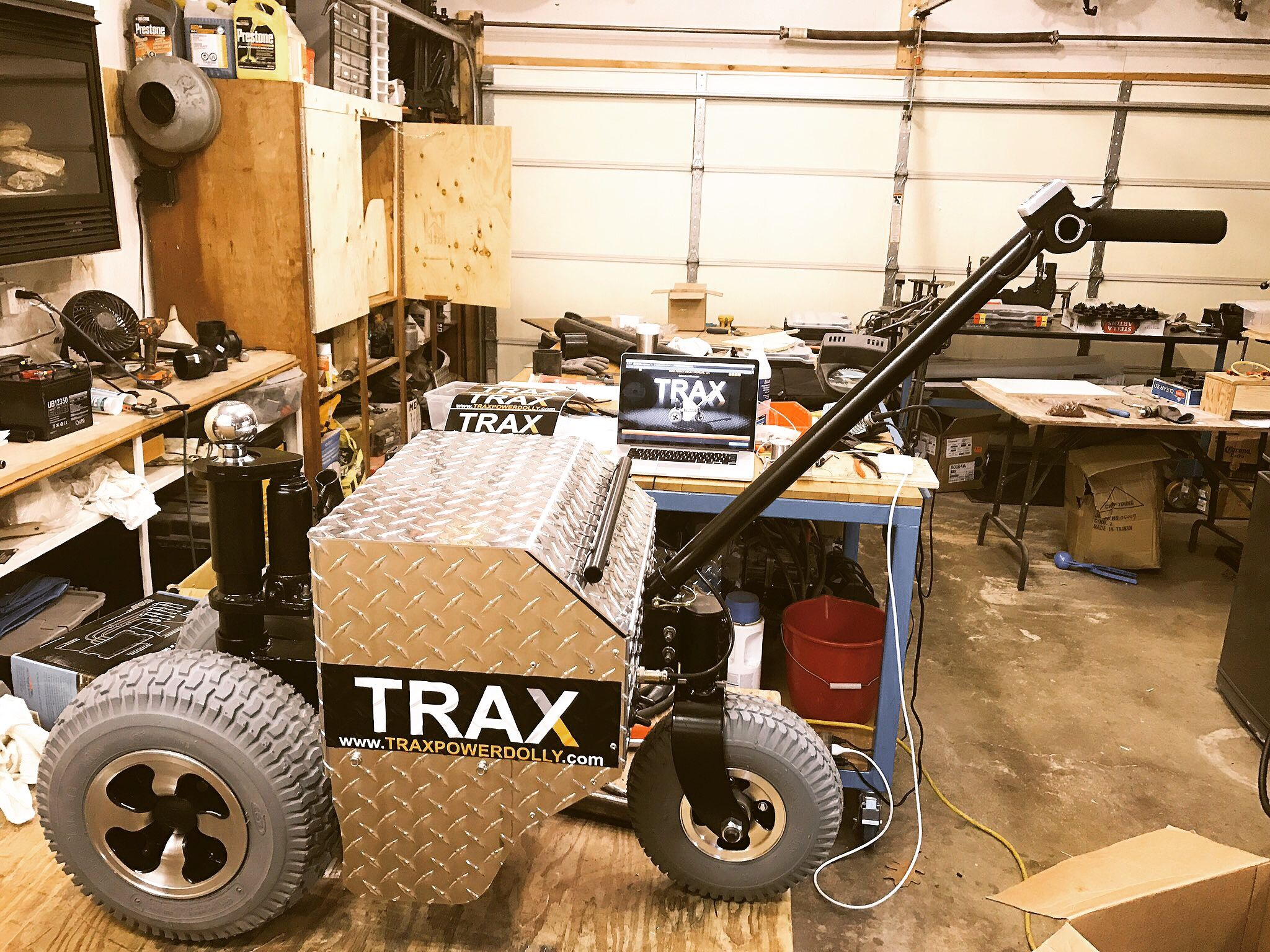 Easy Rv Trailer Moving With The Help Of Trax Tx6000 Power Dolly Weightdistributingtrailerhitchdiagramjpg Simply Hook Up To Your Trailers Ball Hitch Adapter And Push Or Pull Anywhere