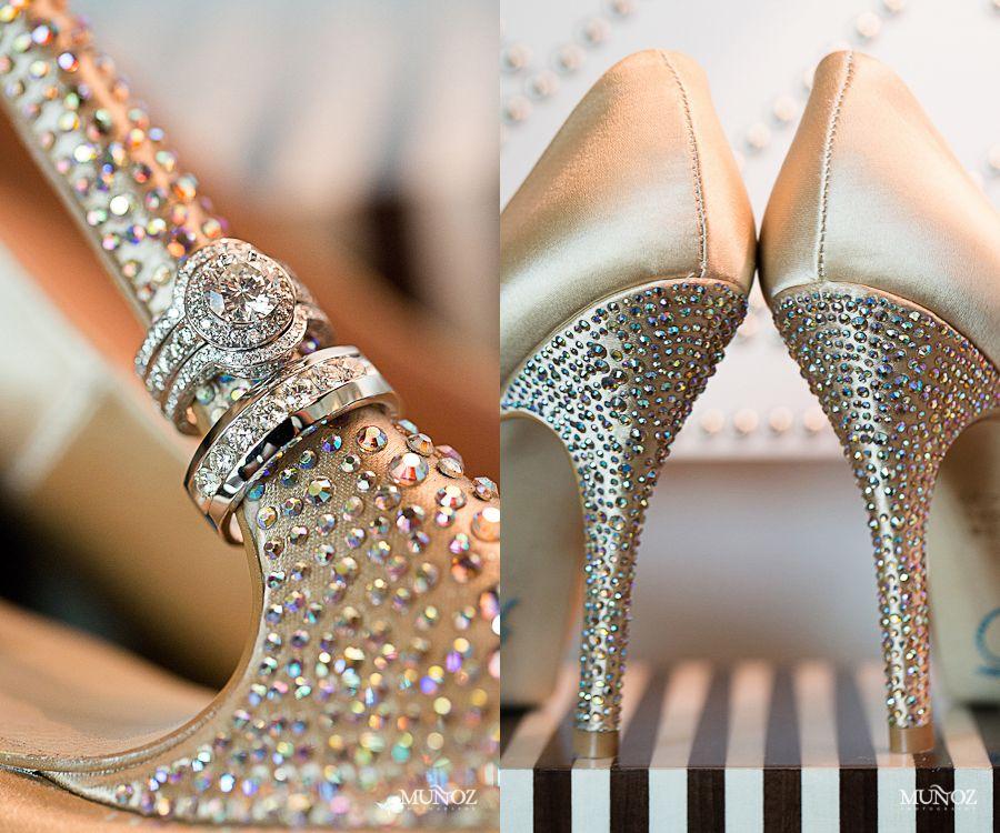 Bridal Shoes Munoz Photography Wedding Photos Photographer South Florida