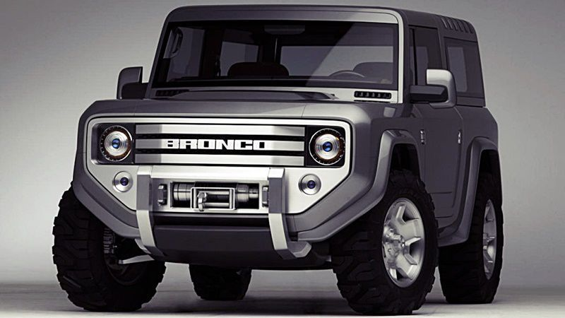 2020 Ford Bronco Is Confirmed Ford Bronco Concept Ford Bronco Bronco Concept