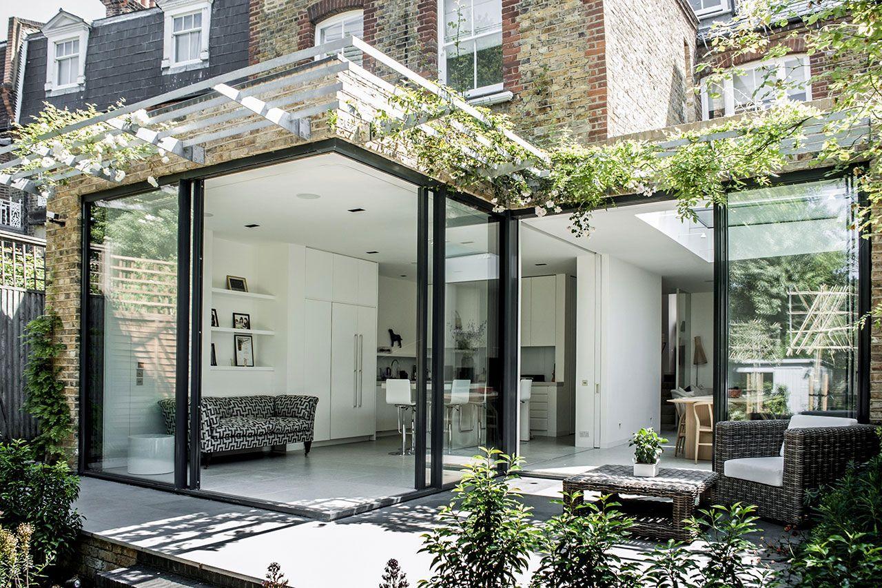 House Extension Killiser Avenue Minimal Windows By Iq Glass House Extensions Door Glass Design House Design