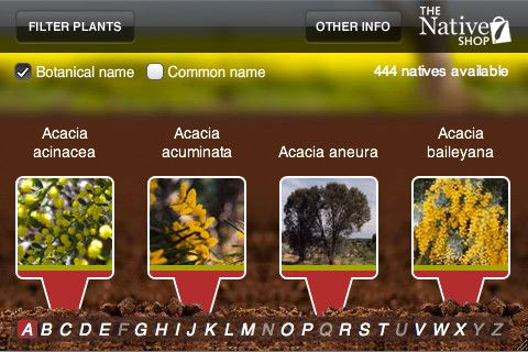 Native Plant Guide iPhone and iPad app by The Native Shop