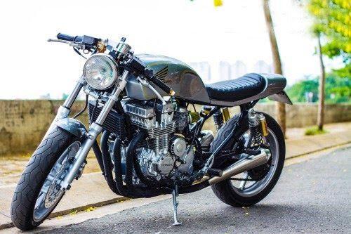 honda cb750 nighthawk cafe racer - found on rocketgarage   motos