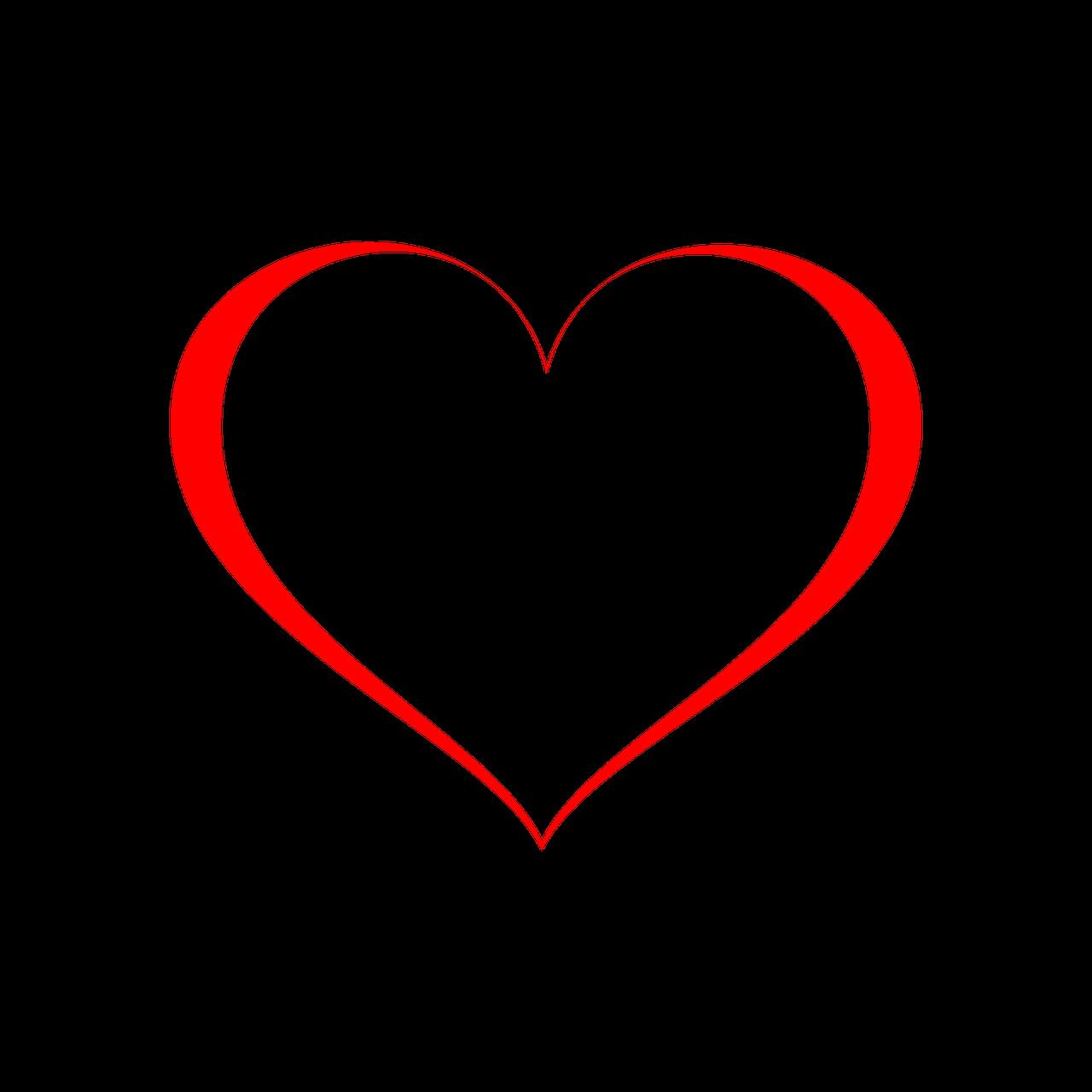 Wedding Heart Icon Symbol Love Red