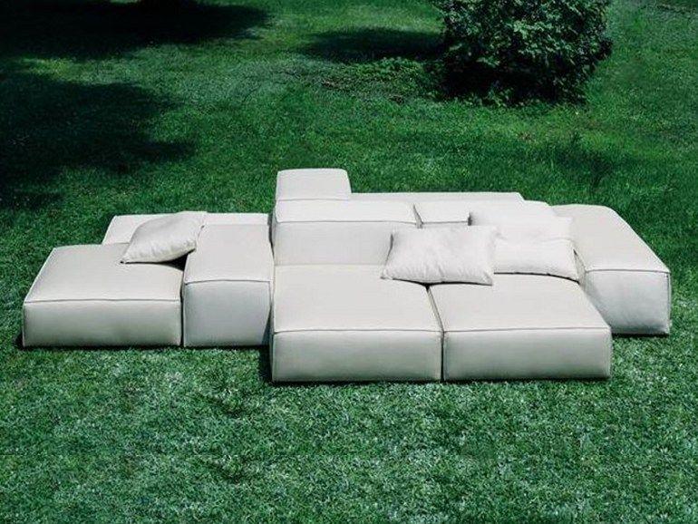 gepolstertes anbausofa extrasoft kollektion extrasoft by living divani design piero lissoni. Black Bedroom Furniture Sets. Home Design Ideas