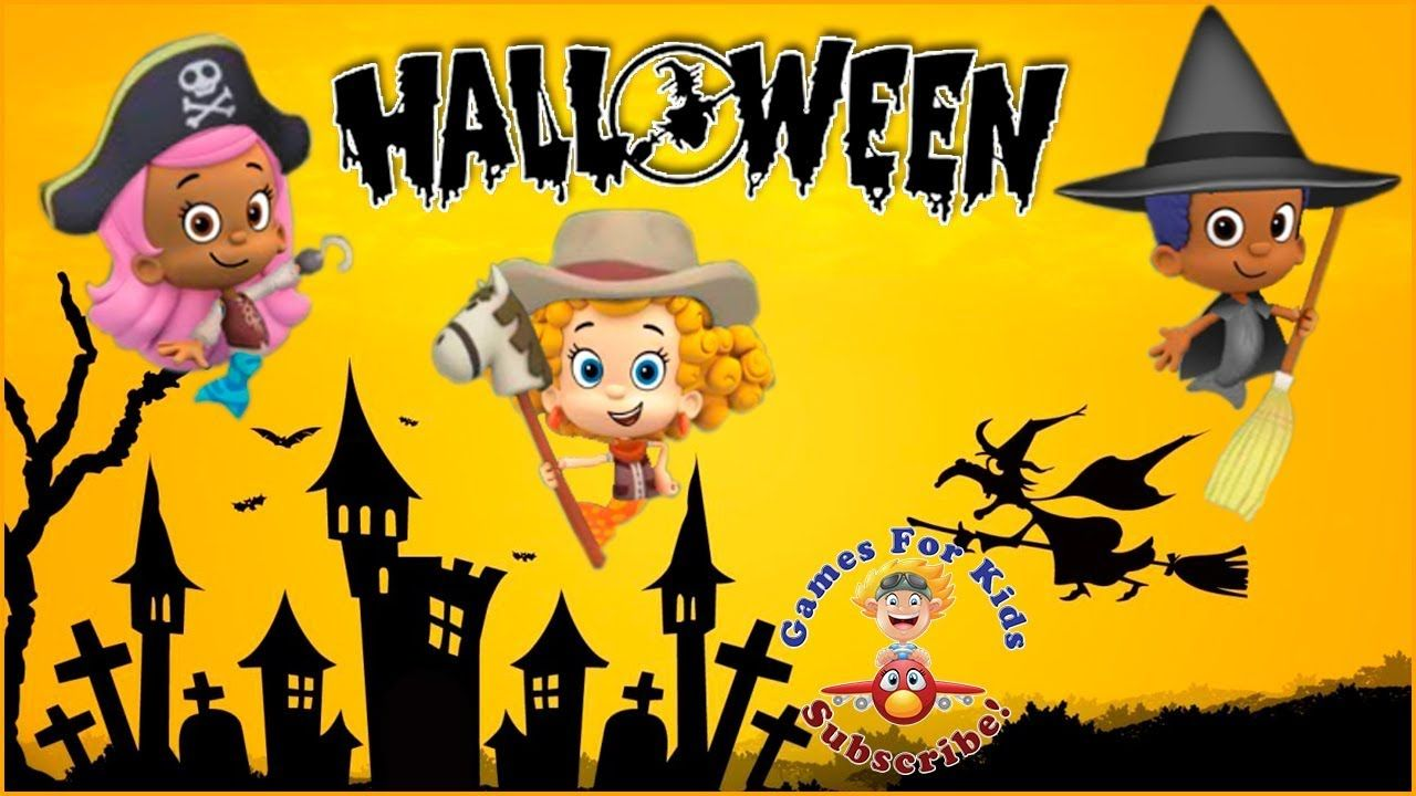 Bubble Guppies Halloween Party Game Baby Games For Kids